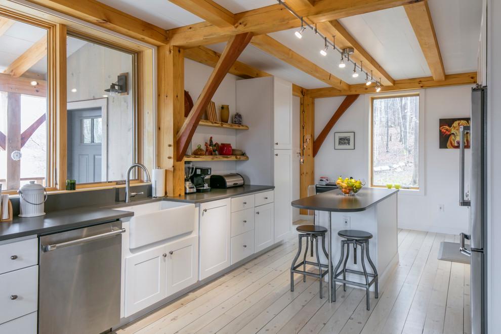 Farmhouse Galley Kitchen