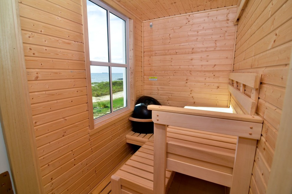 Beach Style Sauna Design