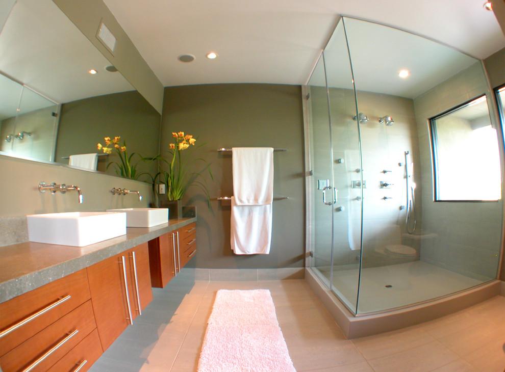 Midcentury Sauna Design