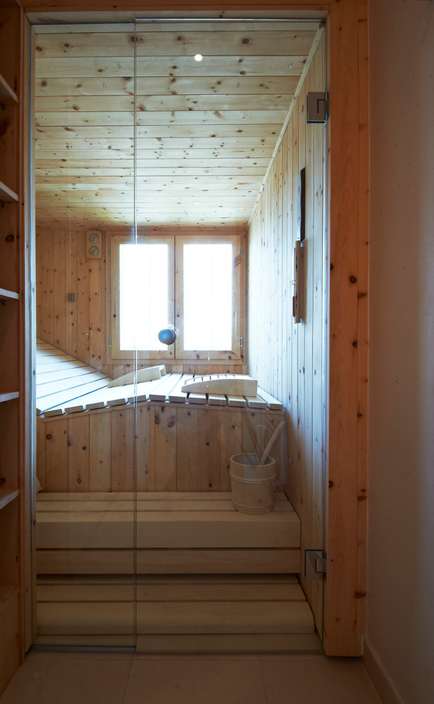 Traditional Sauna Design