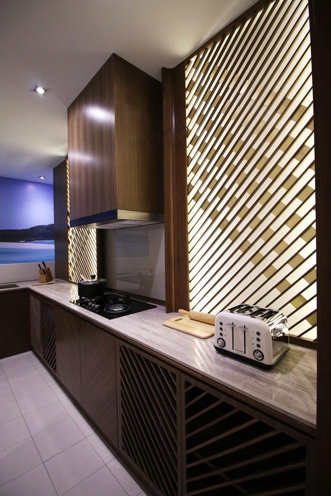Asian Kitchen Pantry Design