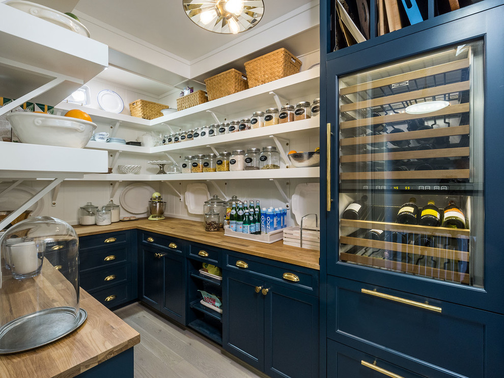 Farmhouse Kitchen Pantry Design
