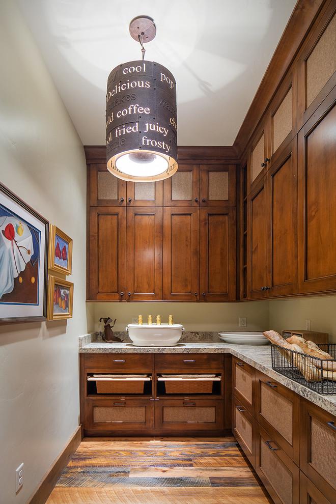 Rustic Kitchen Pantry Design