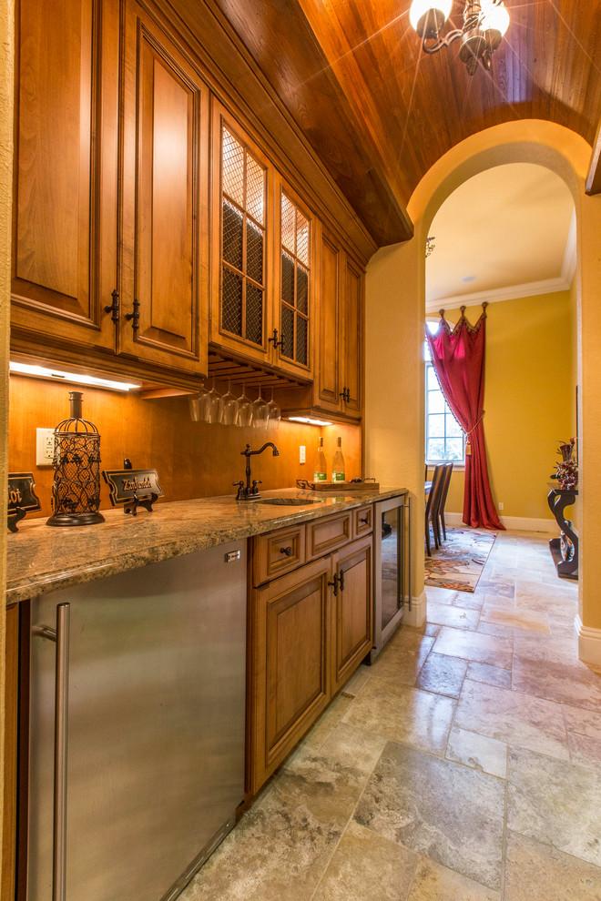 Southwestern Kitchen Pantry Design