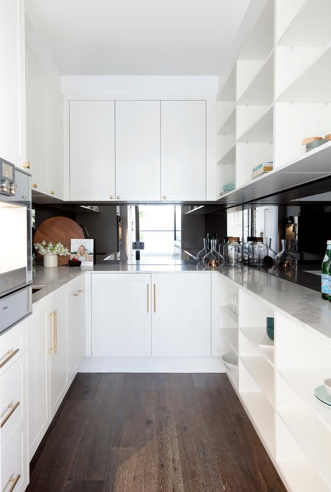Transitional Kitchen Pantry Design