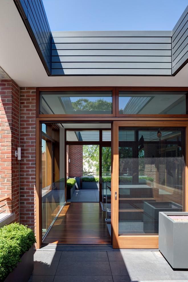 Wooden Industrial Patio Design