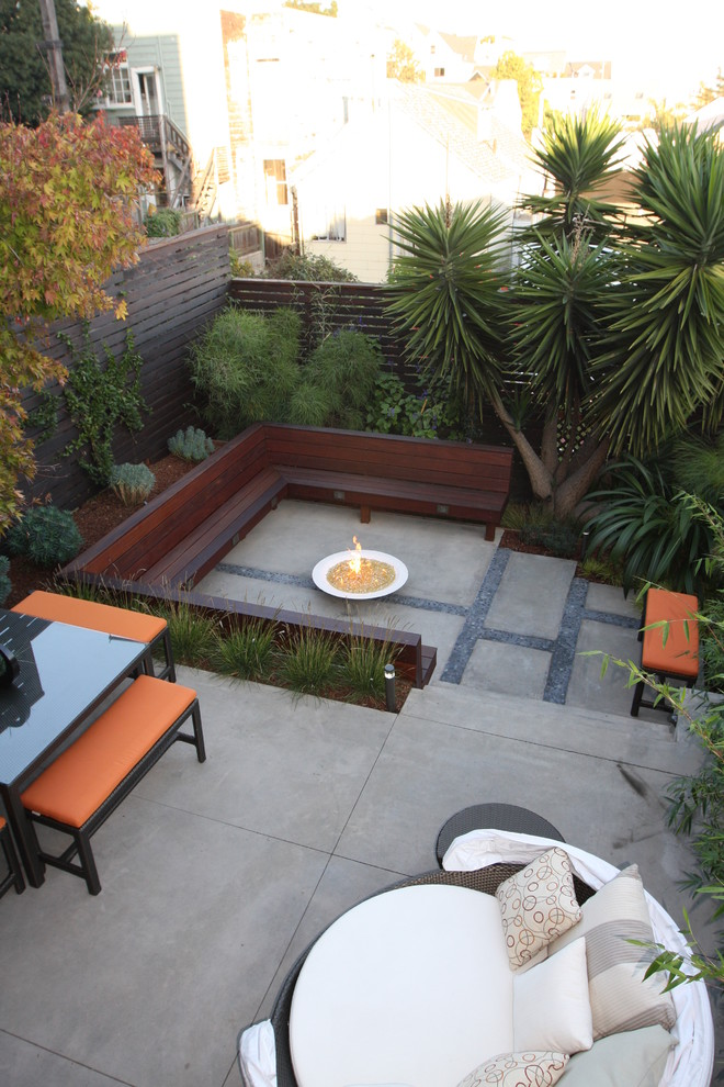 Wooden Modern Patio Design