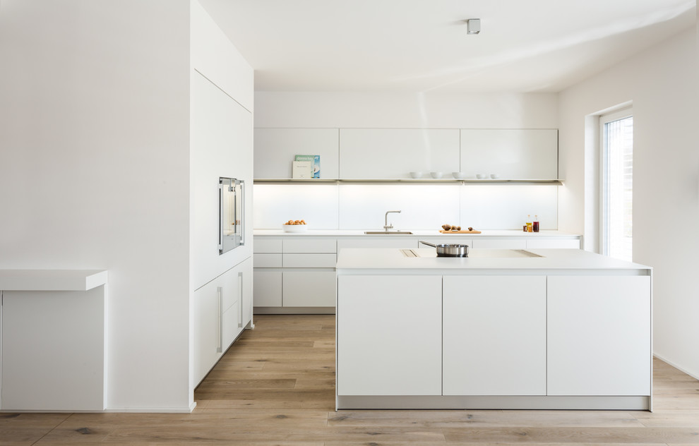 All White Modern Kitchen All White Modern Kitchen