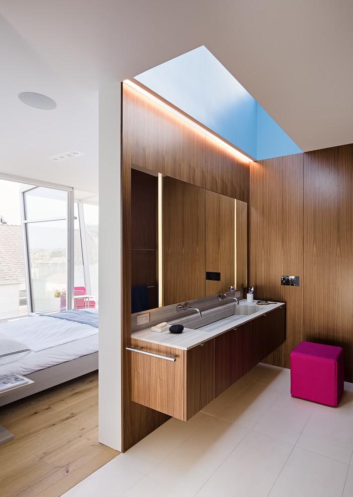 Loft Style Contemporary Bathroom