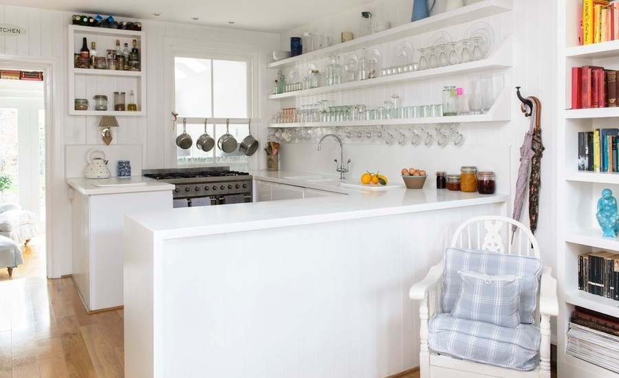 48 Beautiful All White Kitchen Design Ideas Cool Beautiful White Kitchen Designs Style