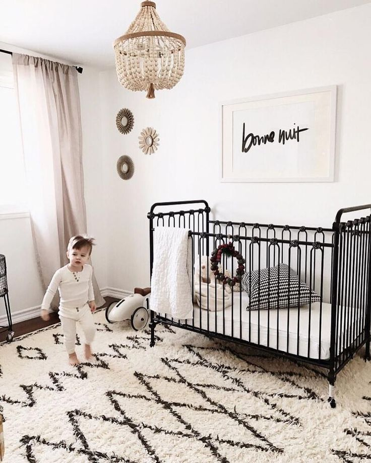 30 Serene Iron Crib Design Ideas For Your Cute Baby