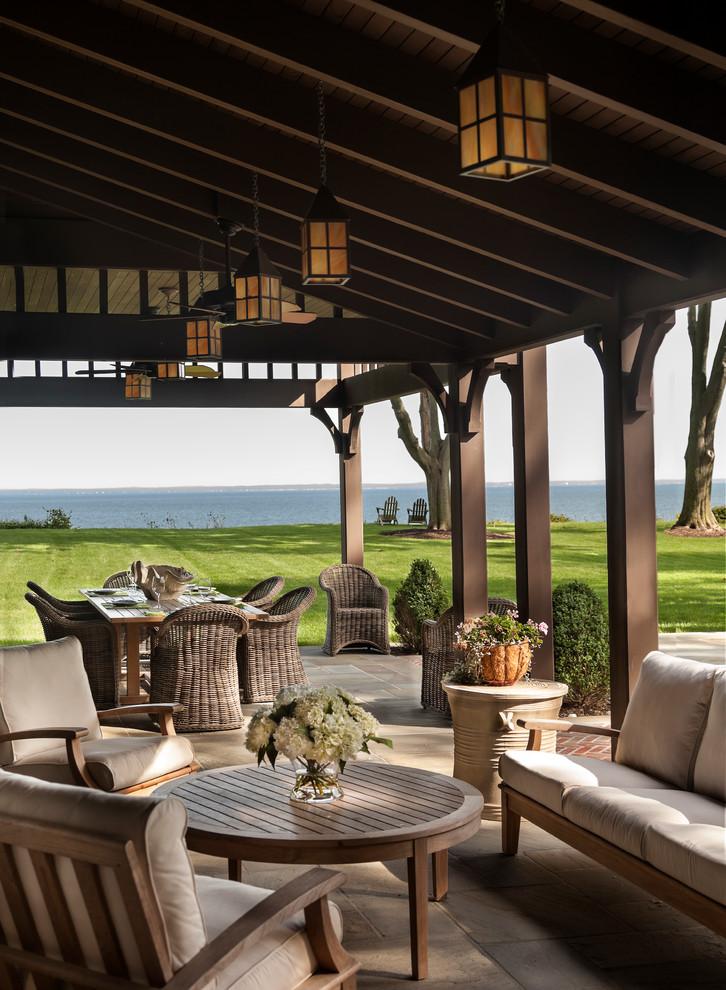 Craftsman Backyard Porch Design