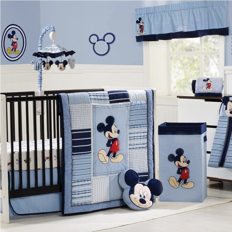 Cute Boy Nursery Mickey Mouse