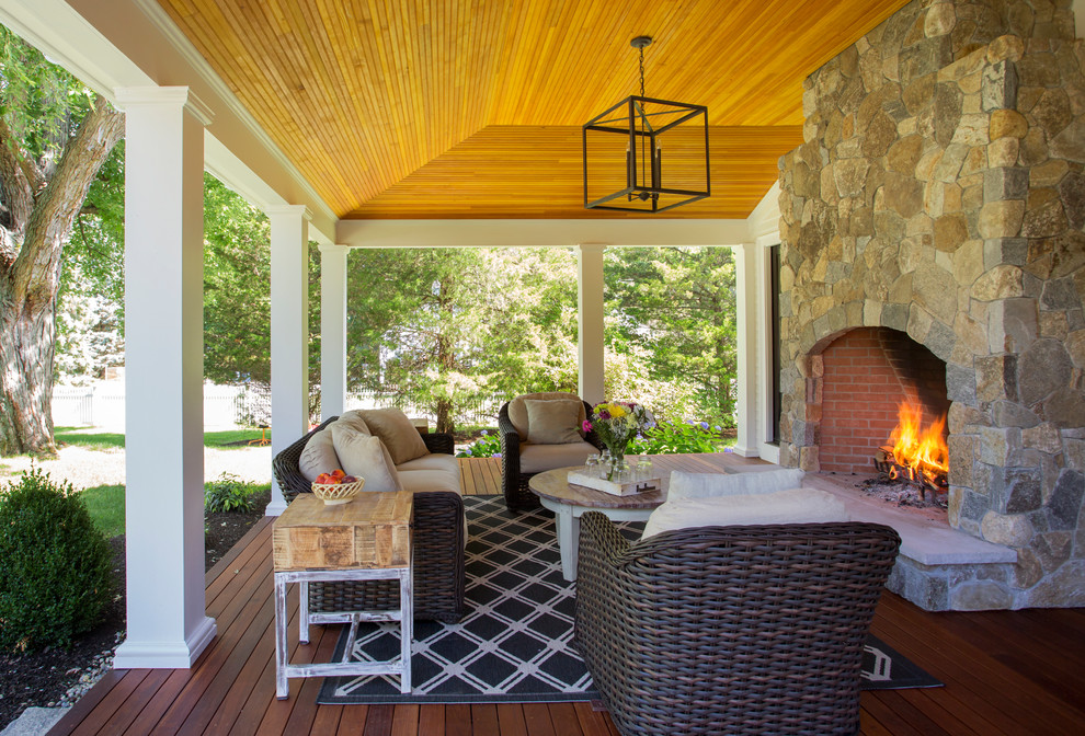 15 Stunning Backyard Porch Design Ideas on Farmhouse Backyard Landscaping id=19030