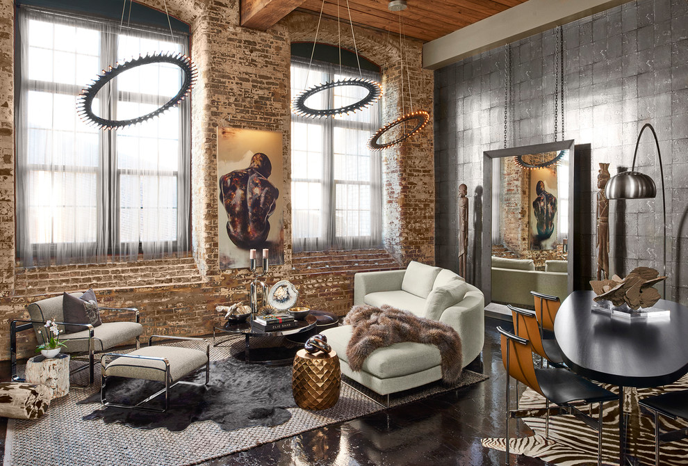 20 best interior design ideas to get inspired for Industrial chic living room