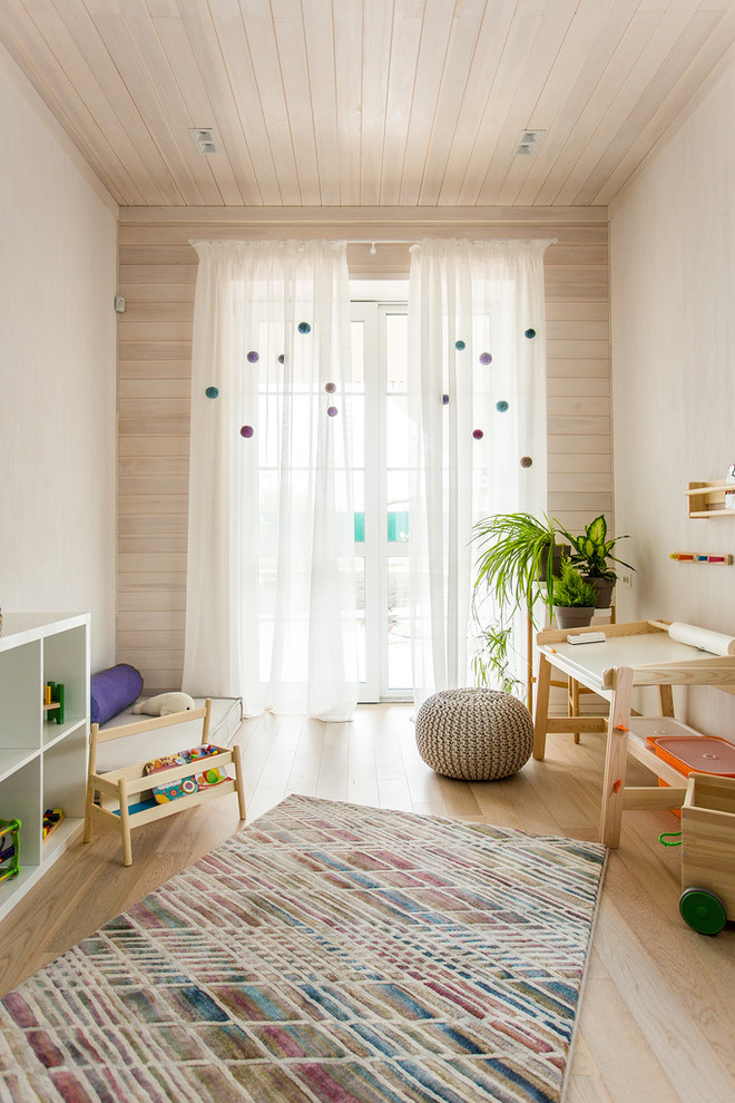 Scandinavian Colorful Kids Room Rug