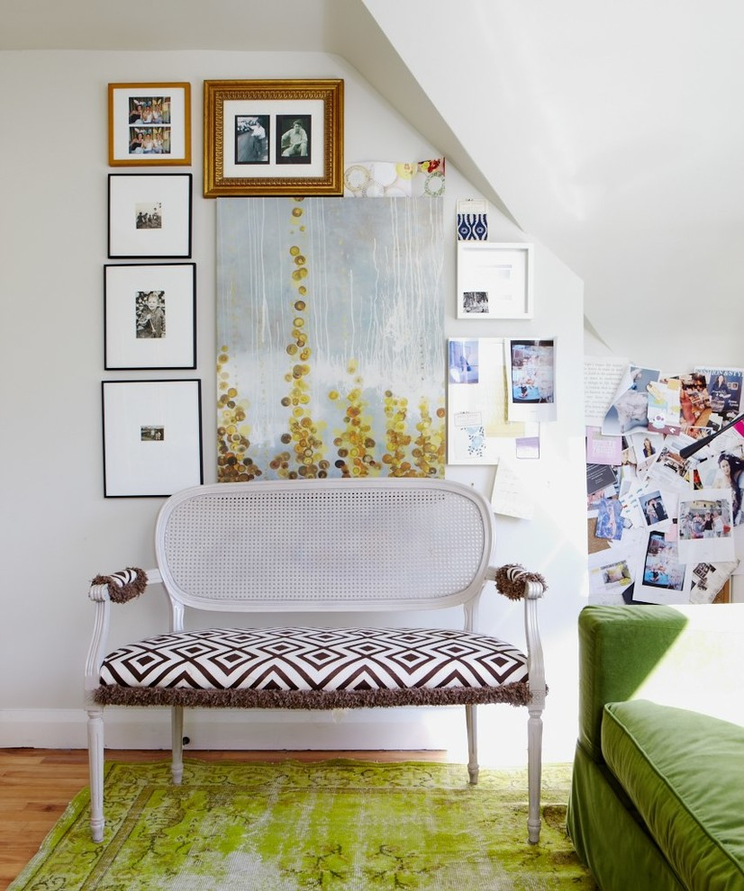 Shabby-Chic Style family Room Rug Design