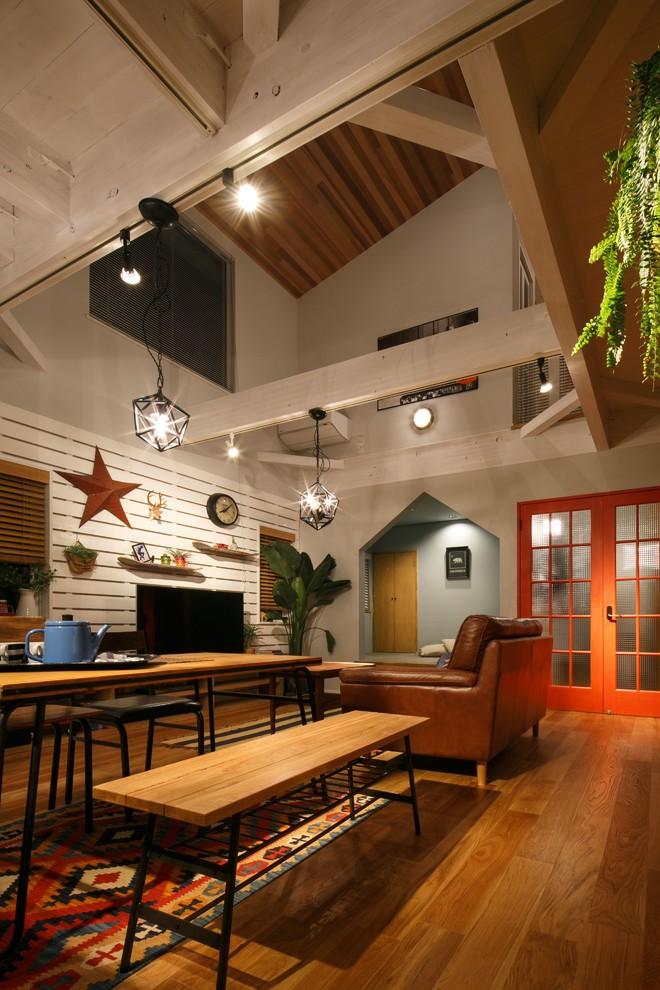 Southwestern Living Room Rug Design