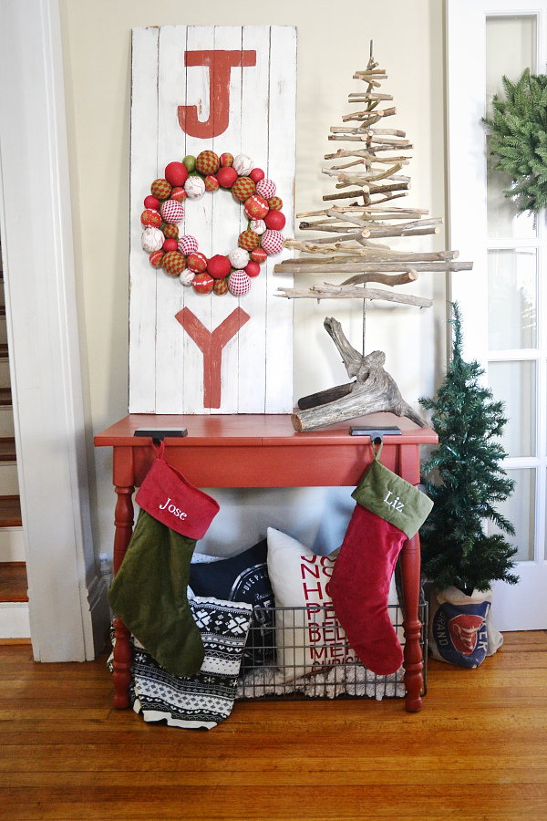 christmas joy sign decoration ideas - Christmas Room Decoration Ideas