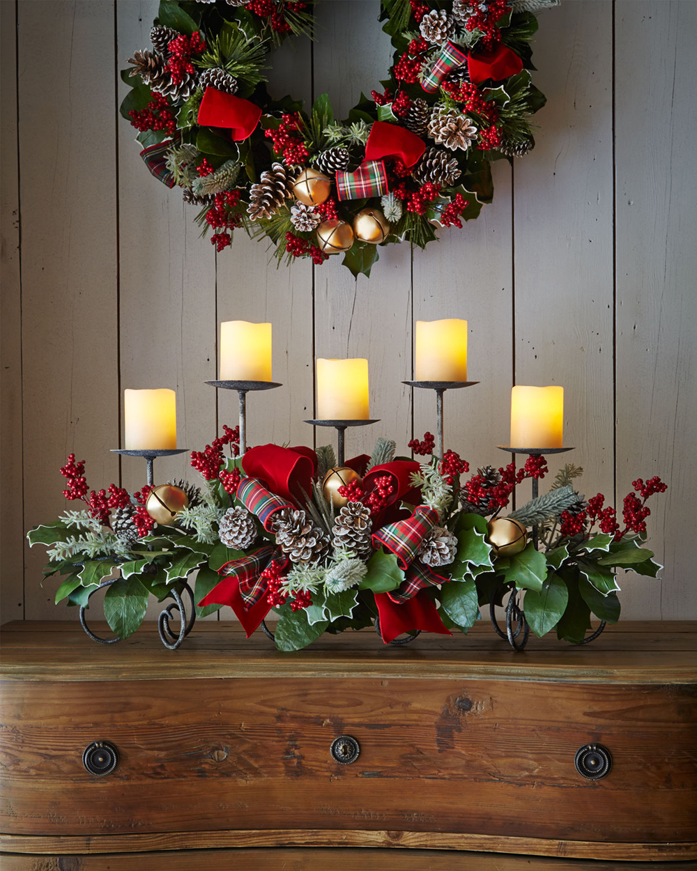 christmas rustic decoration ideas - Christmas Decorations Ideas 2017