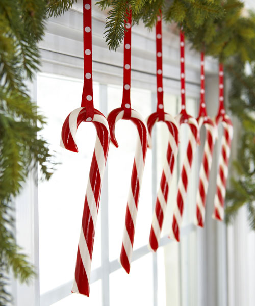 DIY Candy Cane Candle Jackets