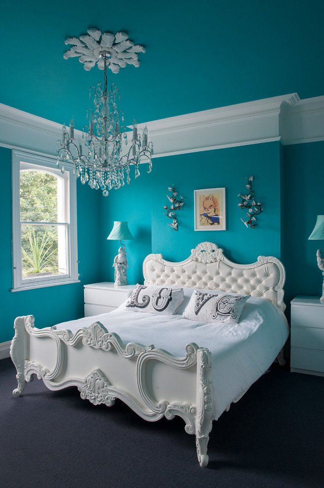 Eclectic Master Bedroom