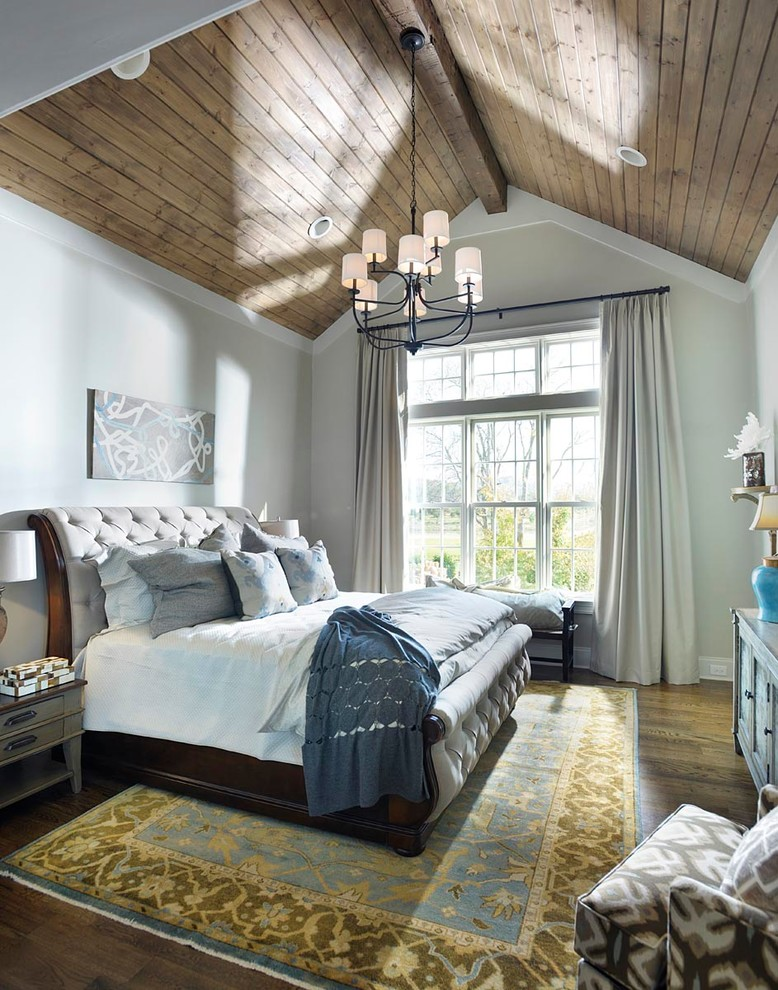 20 cool master bedroom designs collection for Farmhouse master bedroom