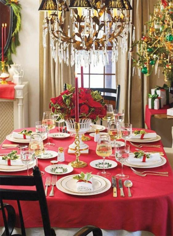 Christmas Table Decorating Ideas