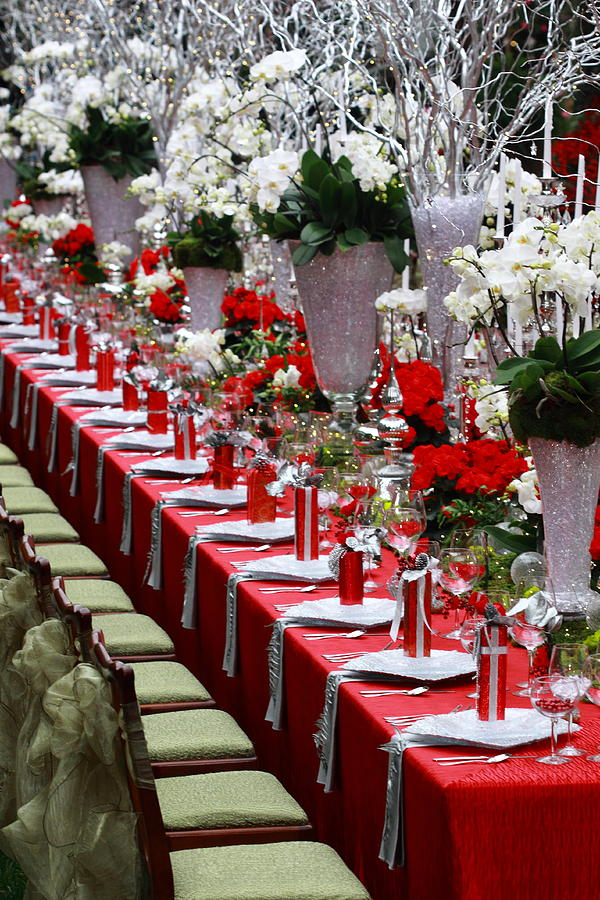 Christmas table decoration ideas for
