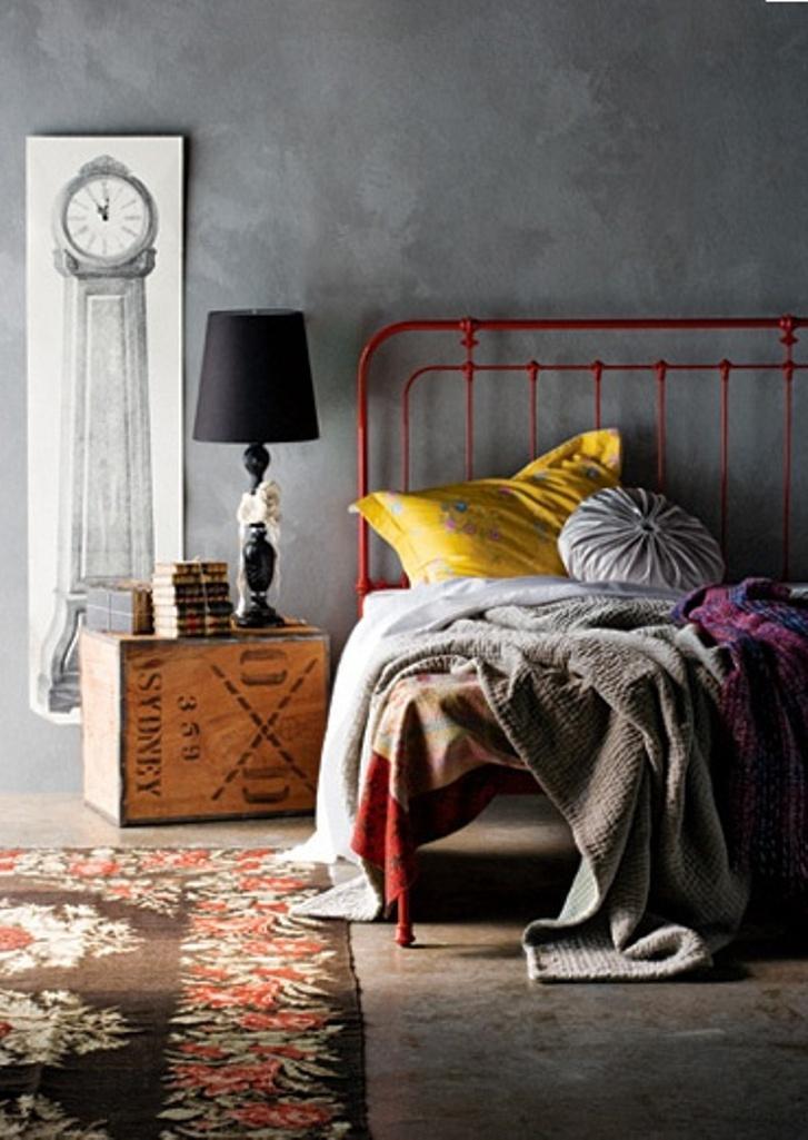 Cool Industrial Bedroom