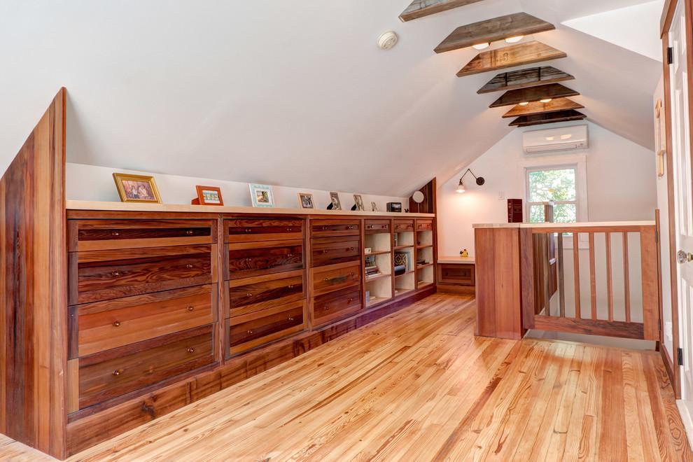 Craftsman Loft-Style Bedroom
