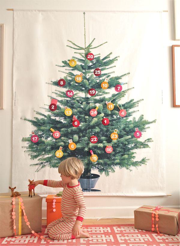 DIY Giant Advent Calendar