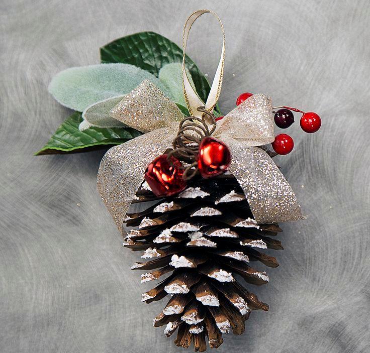 DIY Wreath With Ribbon & Cherry