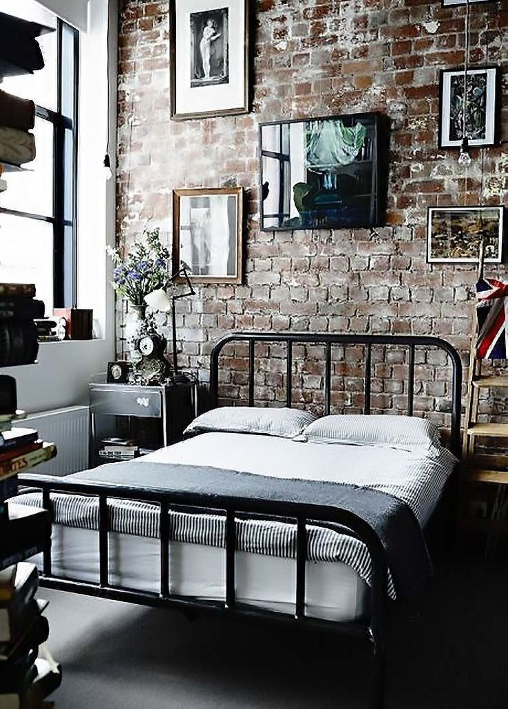 Delightful Source: Decoist.com Edgy Industrial Style Bedrooms
