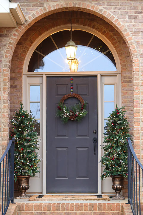 Front Doors Christmas Decoration