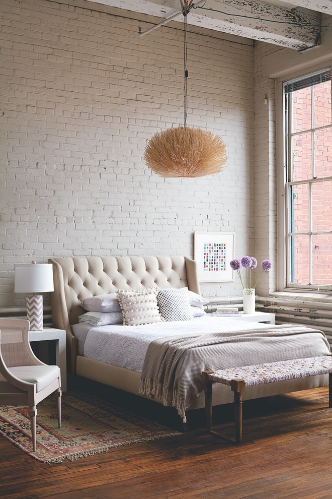 Loft Industrial Bedroom