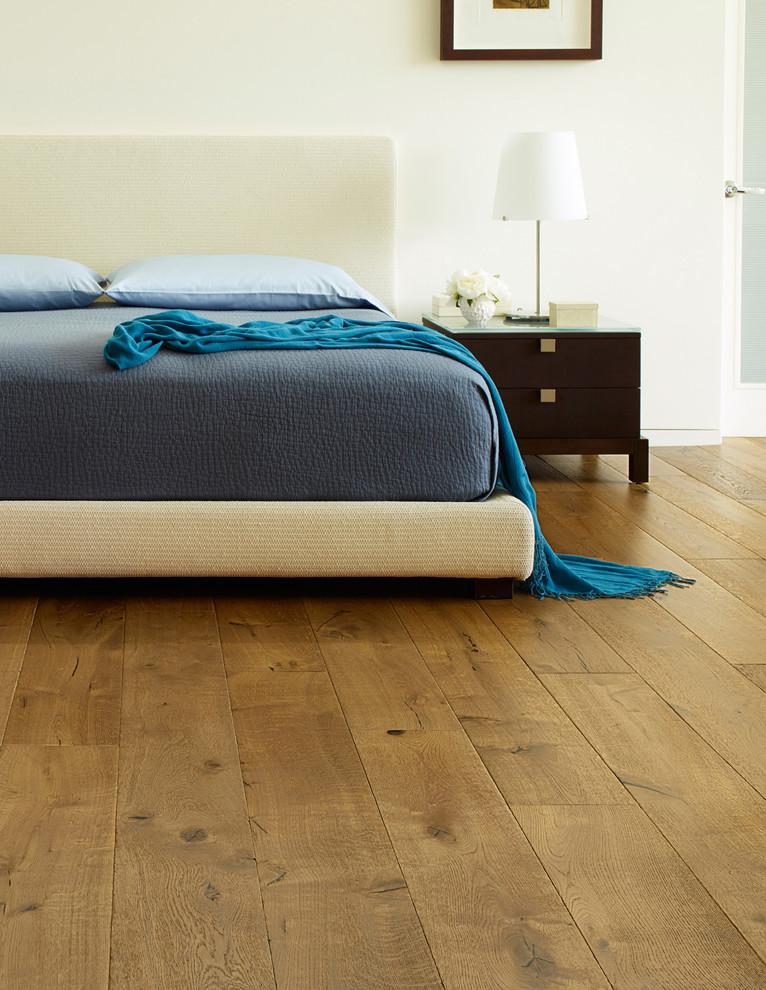 Mediterranean Loft-Style Bedroom