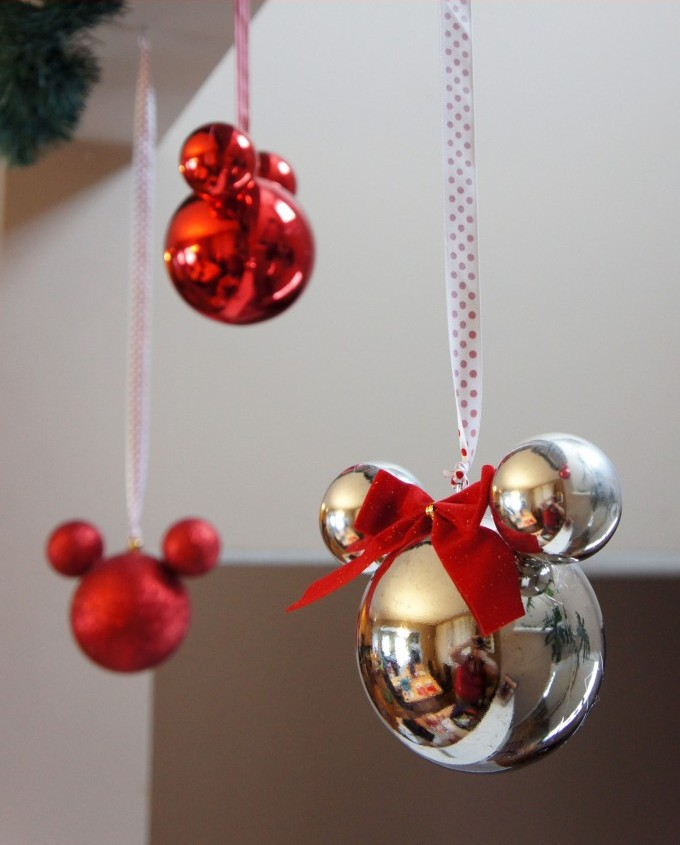 Mickey Mouse Ornaments.