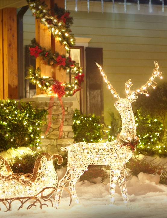 23 outdoor wooden reindeer christmas decorations images outdoor - Outdoor Wooden Reindeer Christmas Decorations