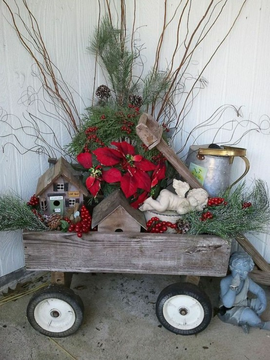 30 Outdoor Christmas Decoration Ideas Wow