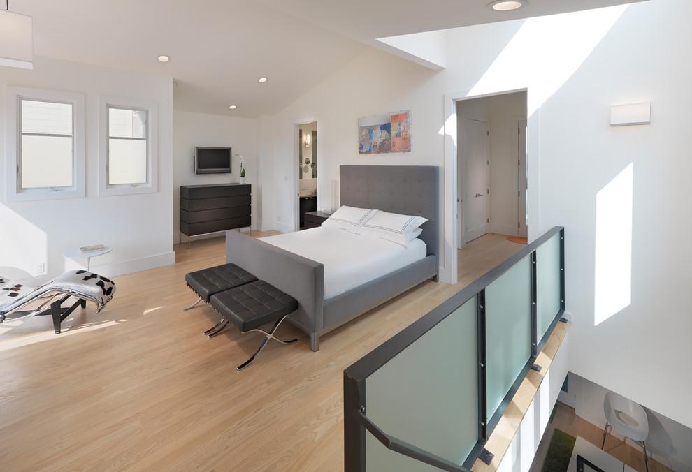 Scandinavian Loft-Style Bedroom