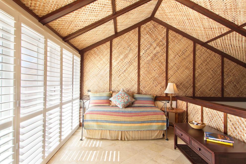 Tropical Loft-Style Bedroom