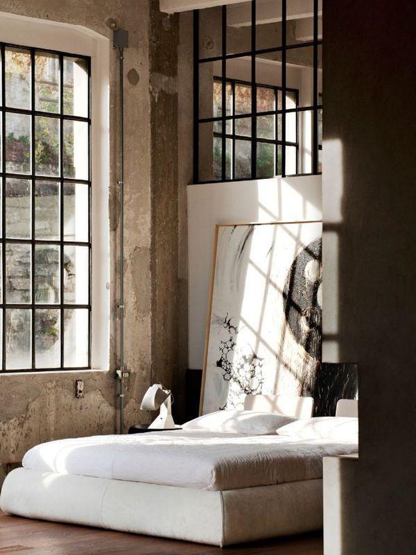 indsutrial-bedroom-Charming