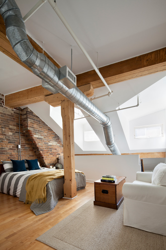 penthouse -industrial-bedroom