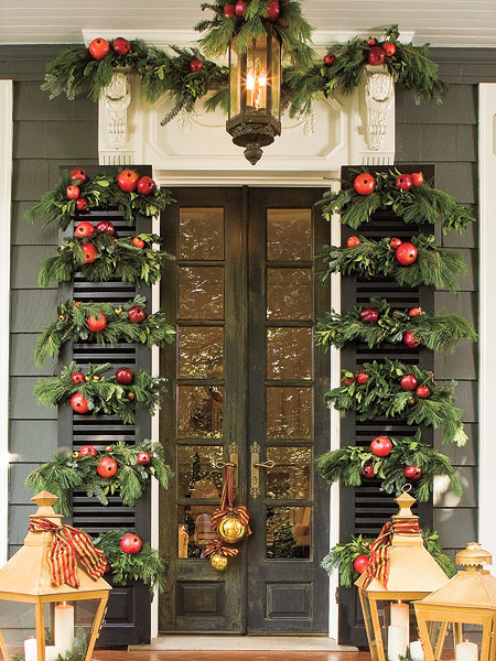 Christmas Holiday Door Decorations