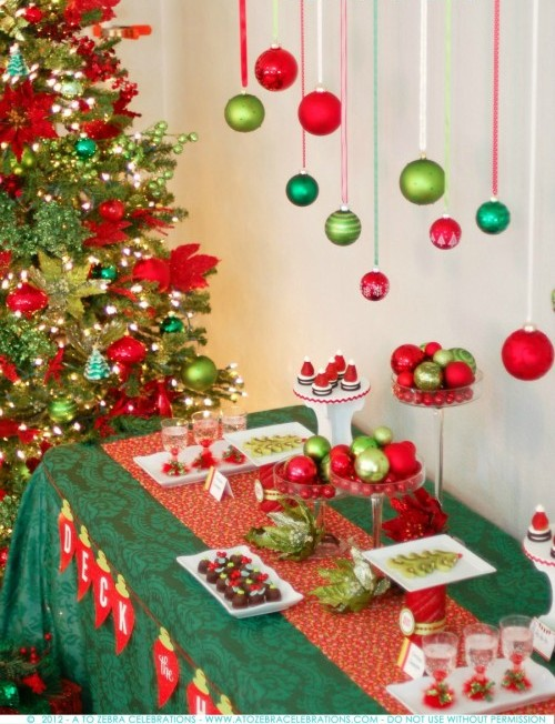 Amazing Christmas Party Ideas Part - 31: Christmas Holiday Party Ideas