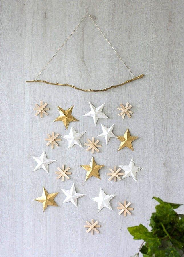 Christmas-crafts-for-kids-woodland-christmas