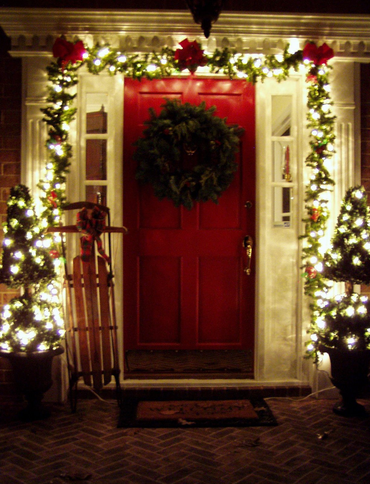 31 fabulous porch christmas decoration - Outdoor Porch Christmas Decorations