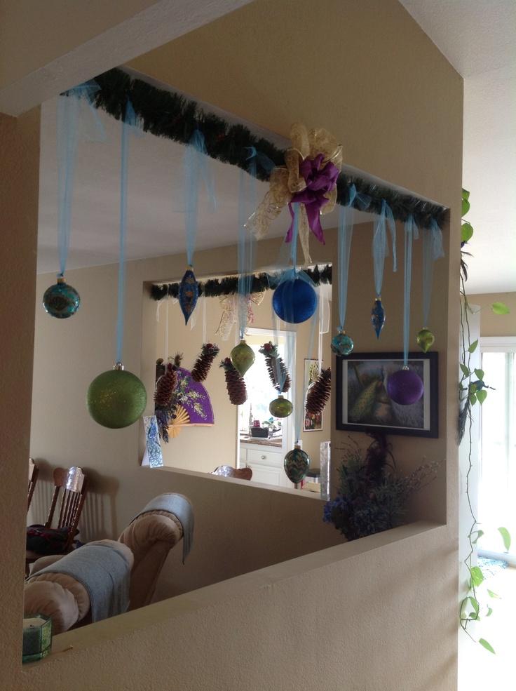 Living Room Christmas Decoration