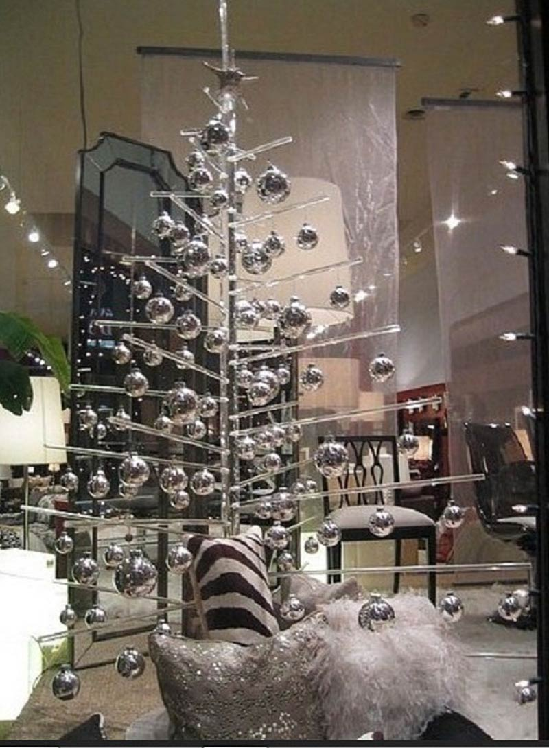 Modern White Christmas Tree
